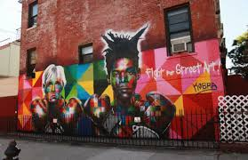 Big Ang Mural Brooklyn by Eduardo Kobra Blessed Brooklyn With A Mural Of Basquiat And Andy