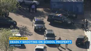 North Las Vegas High School Locked Down After 18-year-old Shot ...