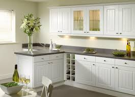 White Kitchen Ideas Terrys Fabricss Blog Green Accessories Highlight The Simplistic Style Wonderfully Images For