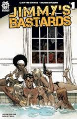 Jimmys Bastards 1 By Garth Ennis Exclusive Andrew Robinson Limited Variant Cover Set