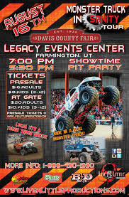 100 Monster Truck Backflip Insanity Tour August 16th At Davis County Fair