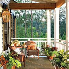 Southern Living Living Rooms by Sunset Porch Southern Living