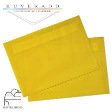 Farbige Briefumschläge Orange Gerippt Mit Seidenfutter DIN C6