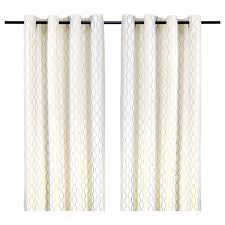 henny rand curtains 1 pair white brown gray ikea
