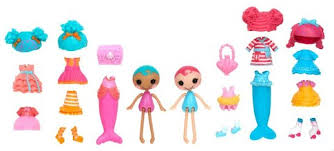 Toys R Us Deluxe Art by Mini Lalaloopsy Deluxe Doll Mermaid Toys