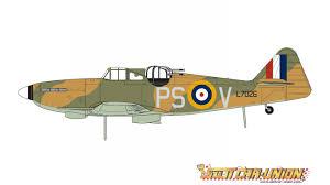 Airfix Boulton Paul Defiant Mk1 1:48 - Slot Car-Union