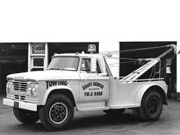100 1964 Dodge Truck D500 Tow