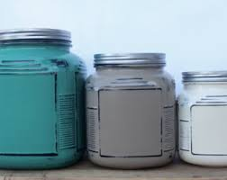 Turquoise Kitchen Canister Sets by Anchor Hocking Cracker Jar 3pc Kitchen Canister Set In