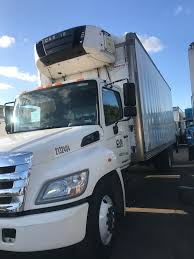 Commercial Used Trucks For Sale – Two Hino 268A Reefer Trucks - C&M ...