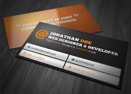 Business Cards Web Design