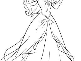 Free Coloring Pages Of Ariel Dress Up