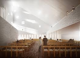 100 Church Interior Design OOPEAA Wins Multifunctional And Social Housing