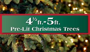 5 Ft Pre Lit Multicolor Christmas Tree by 4 5 U2013 5 Ft Pre Lit Artificial Christmas Trees Long Island Queens Ny