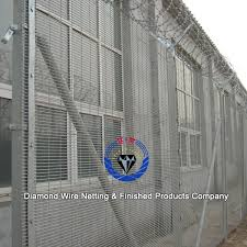 The Drawing Of Anti Climb Fence Installation Including Boundary Wall Fence Design High Security 358 Prison Anti