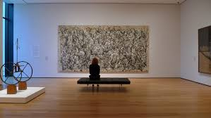 moma where is one moma s jackson pollock conservation project