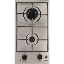 plaque cuisine gaz plaque de cuisson gaz 2 foyers inox frionor dginfri leroy merlin