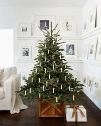 Nyc Balsam Hill Christmas Trees For Sale Styling Up Your Rustic Wooden Rolling Tree Stand By
