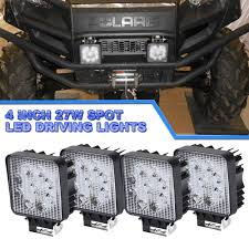 4PCS 27W LED Work Light Bar Spot Truck OffRoad Tractor Fog Lights ... 12v 18w 6led Waterproof Led Headlights Flood Work Light Motorcycle 4pcs 4inch Work Light Bar Driving Flood Beam Suv Atv Jeep New 4inch 57w Lights Offroad Led Bar Trucks Boat 4x4 4wd Atv Uaz Suv Driving 2pcs 18w Flood Beam Led Work Light 12v 24v Offroad Fog Lamp Trucks Truck Lite Spot With Ingrated Mount 81711 Trucklite 50 Inch 250w Spotflood Combo 21400 Lumens Cree Signalstat Stud Mount Oval Lot Two Mini 27w 9 Worklights Fog For Tractor Xrll 27w Forklift Square Cube Pods Flush