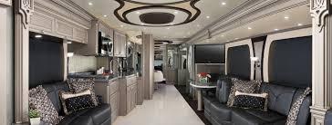 Luxury Motorhomes Interior