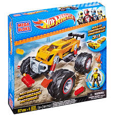 100 Biggest Monster Truck Hot Wheels Motorized MEB91712 Mega Brands