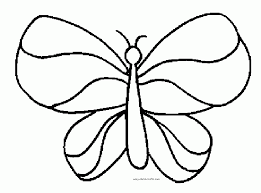 Coloring Page Free Butterfly Pages At