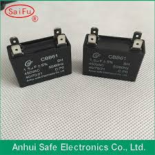 Cbb61 Ceiling Fan Capacitor by Fan Capacitor 3 Wire 4uf 5 5uf Dolgular Com