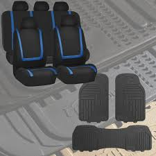 BESTFH | Rakuten: Black & Blue Car Seat Covers For Auto With Gray ... Universal Fit 3pc Full Set Heavy Duty Carpet Floor Mats For Truck All Weather Alterations Weatherboots Gmc Sierra Accsories Acadia Canyon Catalog Toys Trucks Husky Liner Lloyd 2005 Mustang Fs Oem Rubber Floor Mats Mat Rx8clubcom Amazoncom Front Rear Car Suv Vinyl Interior Decoration Suv Van Custom Pvc Leather Camo Ford Ranger Best Resource Smokey Mountain Outfitters Liners