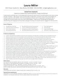 Marketing Assistant Resume Sample Social Media Skills Objective