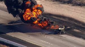 Tanker Carrying 8,700 Gallons Of Fuel Catches Fire On 15 Freeway ... Tanker Truck Fire Kills Driver Temporarily Shuts Down I270 And Hwy 20 Near I80 In Sierra Closed Due To Tanker Truck Explosion One Person Killed Another Injured Collision Fire Pakistan Fuel Kills At Least 140 Fox 61 Explodes Closing I94 Detroit Chicago Tribune Causes Panic California Town Medium Duty Fuel Expertise Gives Up On No One Is Carrying Estimated 8700 Gallons Of Gasoline Burns Three Gnville The Daily Gazette The Rollover Risks Of Tanker Trucks Gas Explosion Employees Scrambles After Explodes Outside Restaurant
