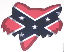 Fox Racing Confederate Rebel Flag Head 8