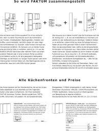 faktum küchensystem rationell inneneinrichtung pdf