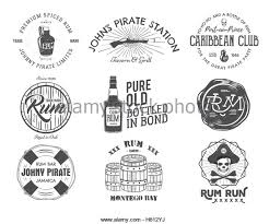 Set Of Vintage Handcrafted Emblems Labels Logos Isolated On A White Background
