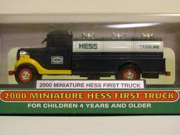 100 First Truck Ever Made Amazoncom 2000 Miniature HESS In Original Unopened Box