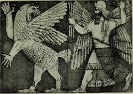 The God Marduk Right Fighting Tiamat