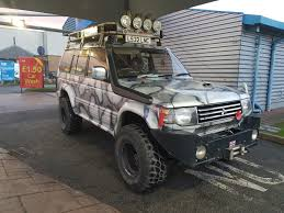 EBay: 1994 MITSUBISHI PAJERO SUPER EXCEED 2.8 TURBO DIESEL MONSTER ...