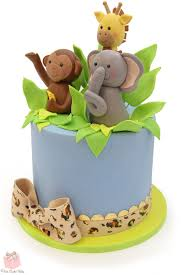 Jungle Cake Topper For Safari Themed Baby Shower » Celebration Cakes