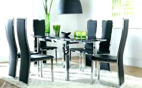 Glass Dining Room Table Sets For 6 Tables Sale Decorating Ideas White