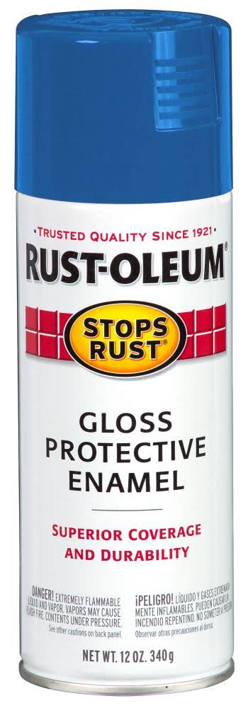 Rust-Oleum Gloss Protective Enamel - Sail Blue, 340g