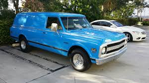1968 Chevrolet C-10 Panel Truck - Classic Chevrolet C-10 1968 For Sale