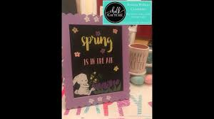 Chalk Couture Build A Bunny And Spring Words On Small Target Board ...