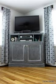A Corner TV Console