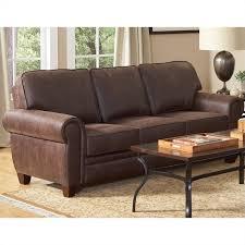 Coaster Bentley Elegant And Rustic Microfiber Sofa In Brown