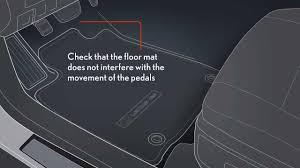 2013 lexus driver s floor mat installation youtube