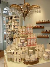 Plateforms Salon Product Display Ideas Further Example Of Levels In The Upper Left Corner Visual Merchandising