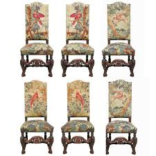 Set Of Six 19th Century Carved Oak High Back Tapestry Dining ... Set Of Six 19th Century Carved Oak High Back Tapestry Ding Jonathan Charles Room Dark Armchair With Antique Chestnut Leather Upholstery Qj493381actdo Walter E Smithe Fniture 4 Kitchen Chairs Quality Wood Chair Folding Buy Chairhigh Chairfolding A Pair Of Wliiam Iii Oak Highback Chairs Late 17th 6 Victorian Gothic Elm And Windsor 583900 Hawkins Antiques Reproductions Barry Ltd We Are One Swivel Partsvintage Wooden Oak Wood Table With White High Back Leather And History Britannica