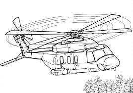 Disney Planes Coloring Pages Helicopter