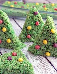 This Rice Krispy Treat Recipe Makes The Cutest Christmas Trees Ever Perfect For Holidays