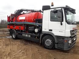 100 Used Vacuum Trucks MERCEDESBENZ Actros 1836 Vacuum Truck