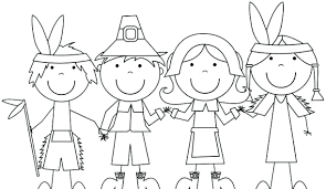 Free Printable Pilgrim Coloring Sheets Kid And Pages Thanksgiving For Colouring Preschoolers Co Full Size