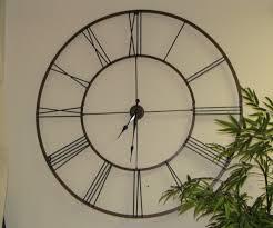 Jolly Large Wall Decor Clock Clocks Living Also Room Uk Range